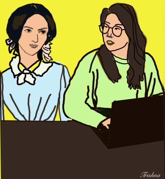 Budding writer taking tips from Charlotte Brontë